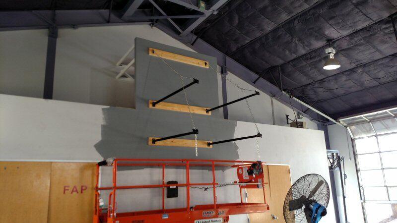 Gymnasium Upgrades Childrens Shelter Basketball Goal