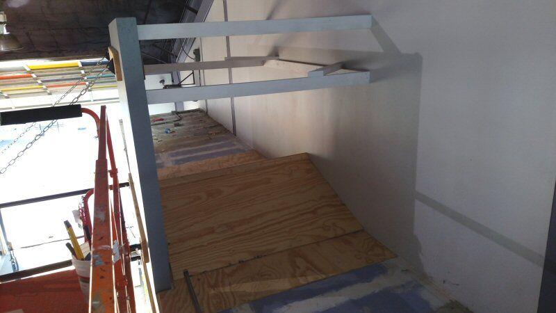 Gymnasium Upgrades Wall Mounted Basketball Goal