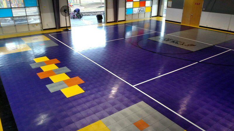 Gymnasium Upgrades Hopscotch Sport Court Gym Flooring
