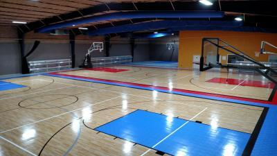 Laredo Athletic Complex Sport Court Gym Flooring