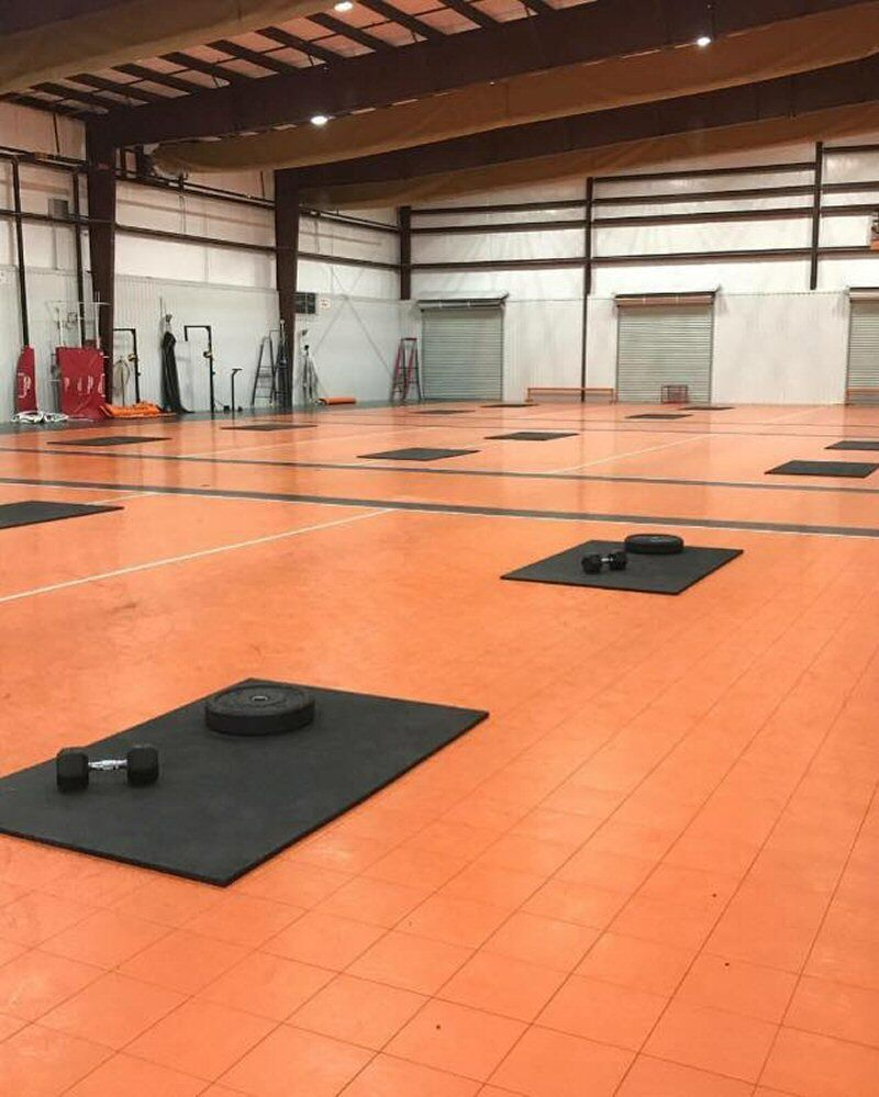 Texas Sports Complex Cross Fit Studio and Cross Fit Competition