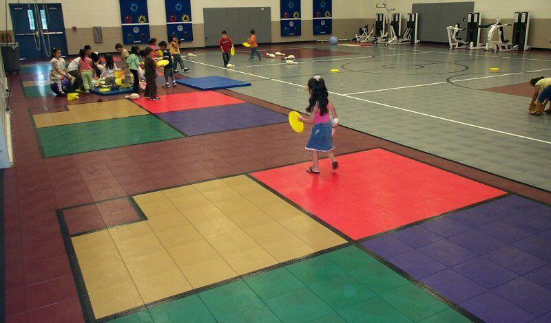PE Gym Floor Sport Court