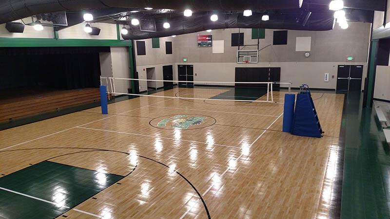 Sport Court Maple Select Gym Floor