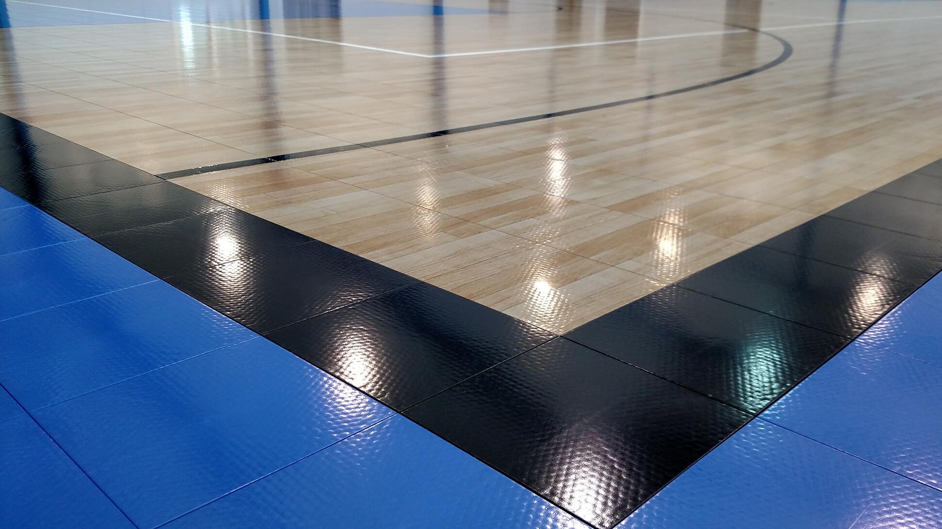 Upgraded Gym Flooring Sport Court