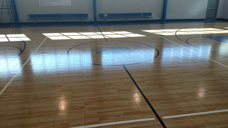 Upgraded Gym Flooring