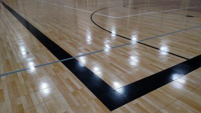 Tournament Gym Navarro ISD Sport Court