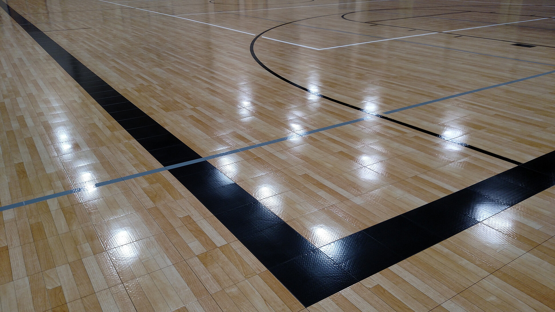Tournament Gym Navarro ISD Sport Court