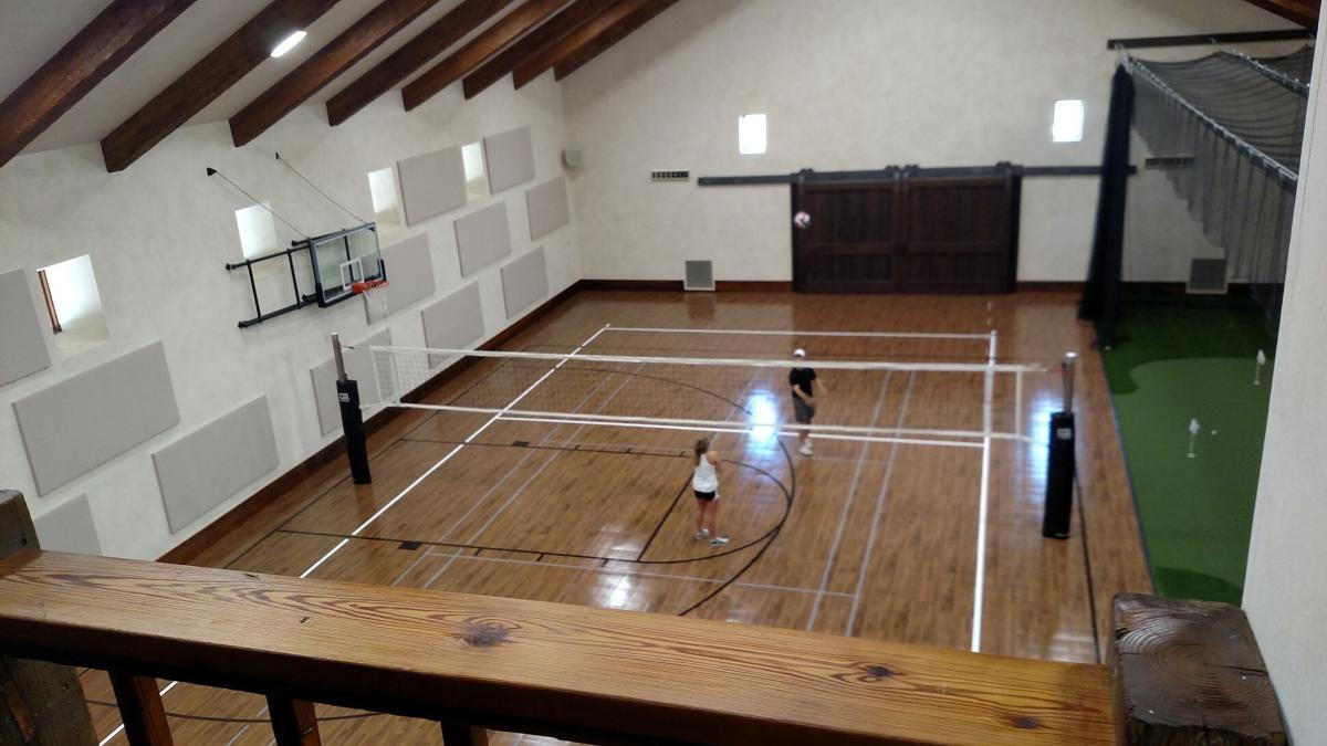 Sport Court Gared Sports Volleyball Systems