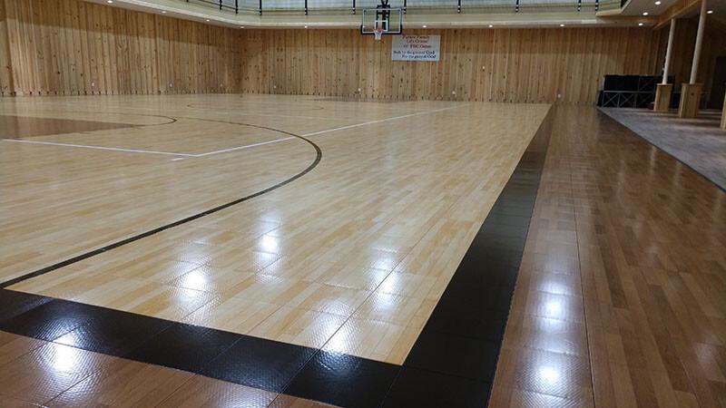 Sport Court Gym Flooring