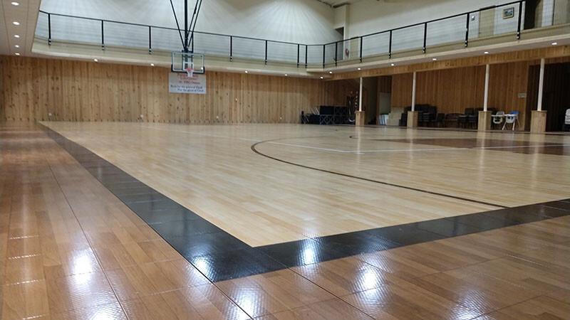 High Performance Gym Floor