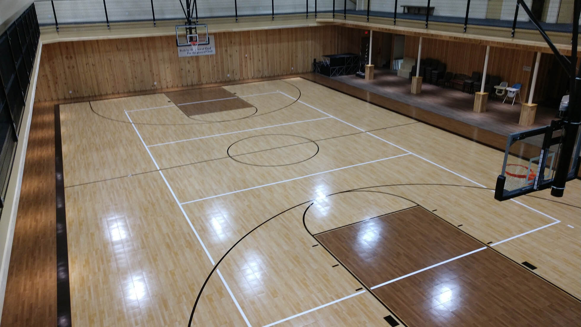 Church Basketball Court