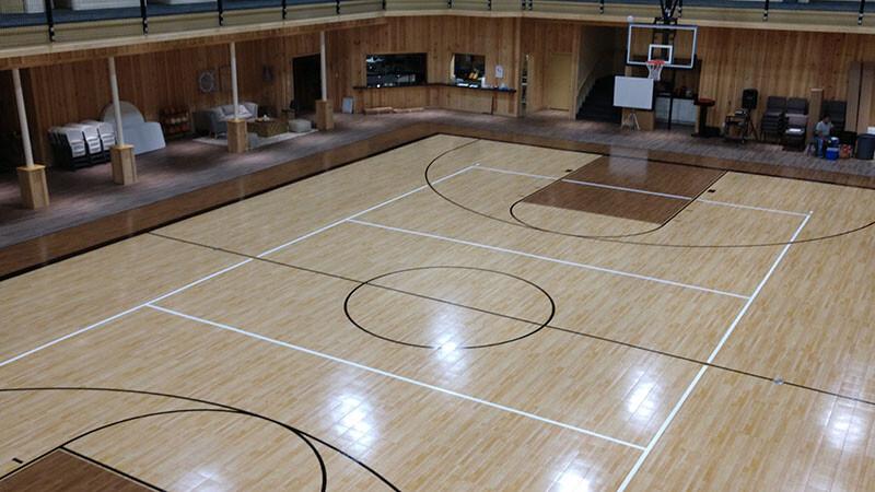 High Gloss Sport Court
