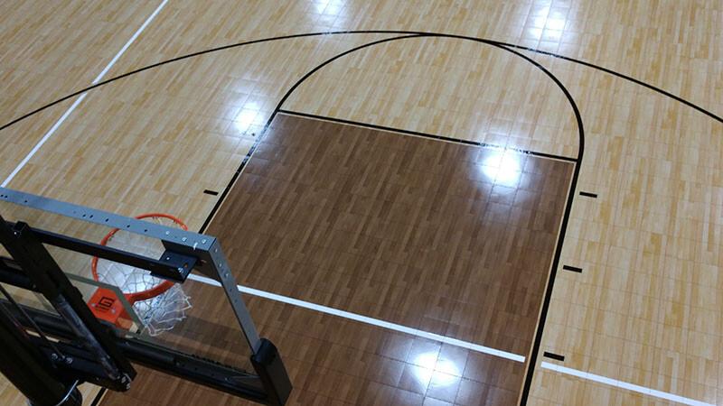 First Baptist Church of Odem Basketball Gym Flooring