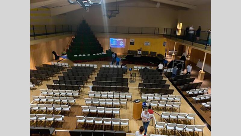 First Baptist Church of Odem Living Christmas Tree