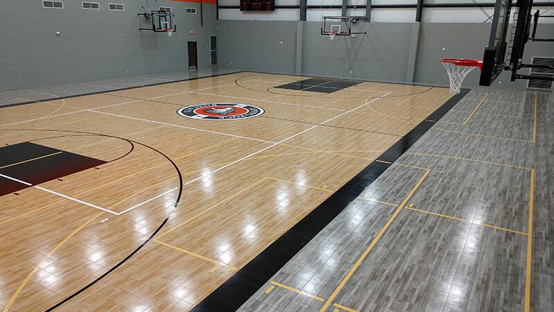 South Texas Sport Court Living Rock Academy
