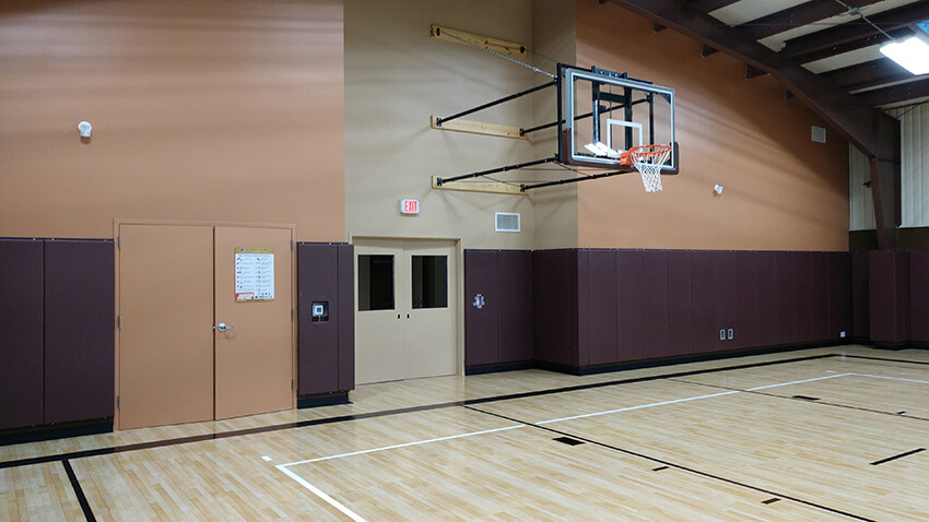 Family Violence Prevention Services Basketball Goal