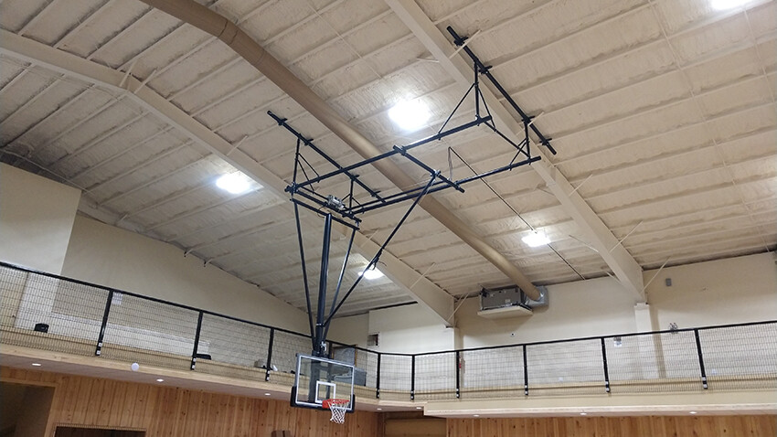 Gym Equipment Ceiling Suspended Basketball Goal