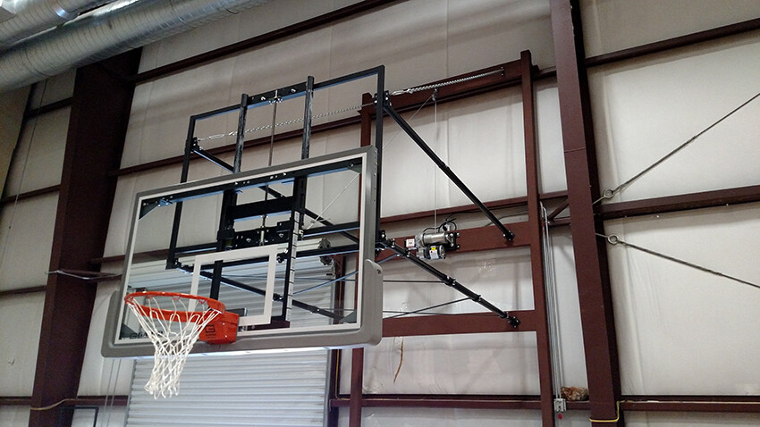 Gym Equipment Wall Mount Basketball Goal