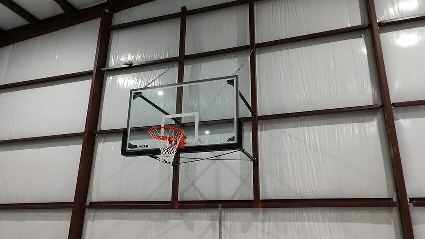Gym Equipment Wall Mount Stationary Basketball Goal