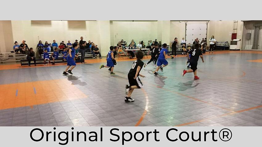 Mercedes Rec Center Sport Court