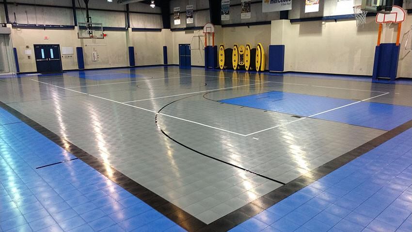 Mercedes Rec Center Sport Court Flooring