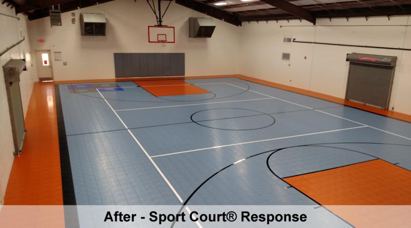 Neighborhood Place Sport Court
