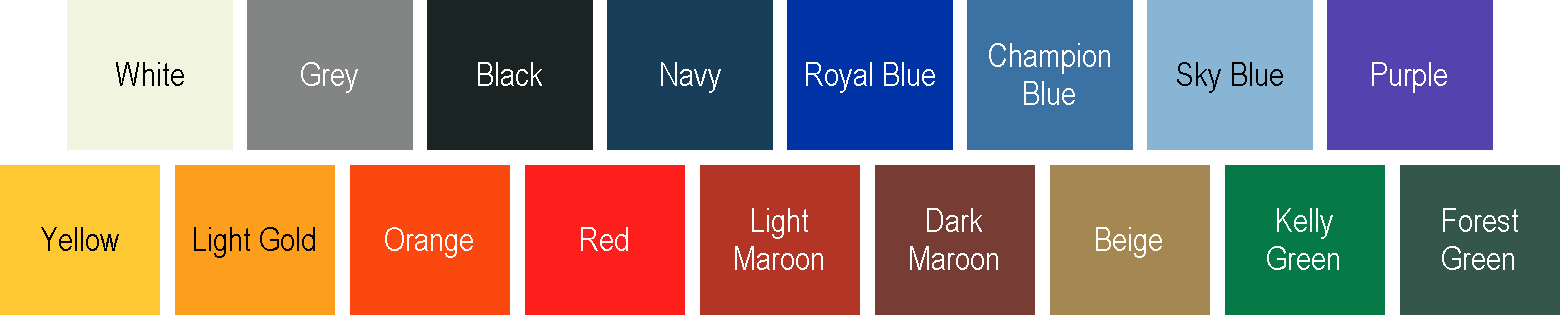 Wall Pads Color Options
