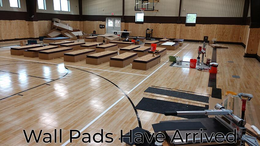 Wall Pads Sport Court