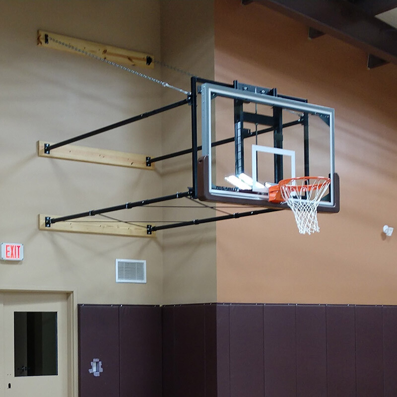 Gared Sports Wall Mount Basketball Goal