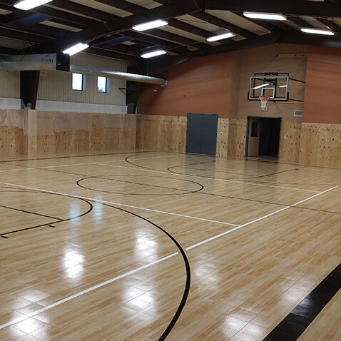 Family Violence Prevention Services Sport Court Gym Floor