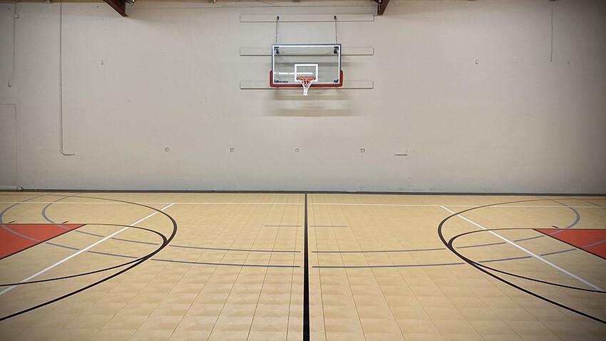 Court of Legends Basketball Gym Sport Court Gym Flooring