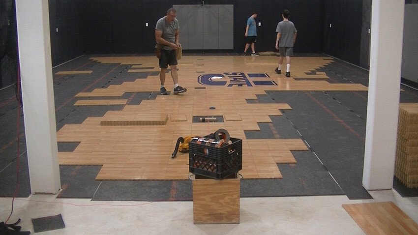 Home Gym Sport Court Gym Flooring