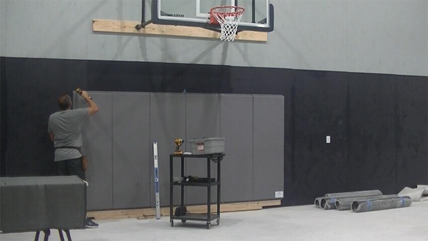 Home Gym Wall Pads