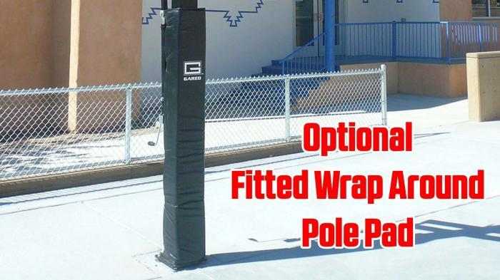 Pro Jam Basketball Goal Fitted Wrap Around Pole Pad