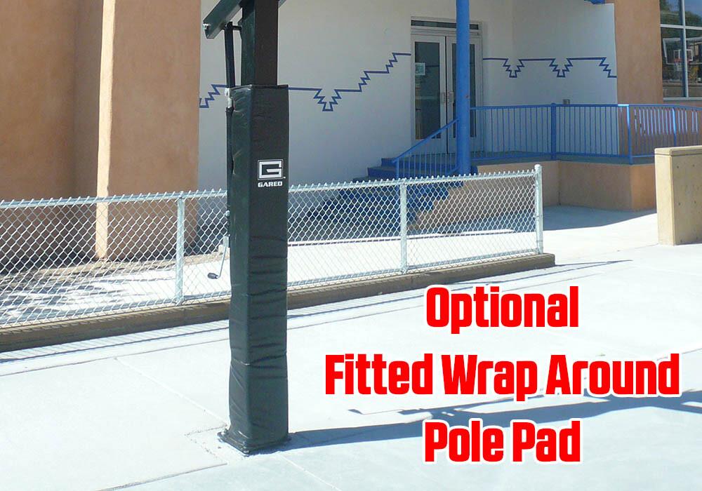 Collegiate Jam Basketball Goal Pole Pad