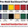 Basketball Backboard Pad Colors