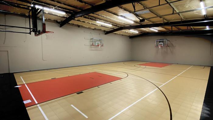 Gared Sports 2300 Stationary Wall Mount Basketball Goal