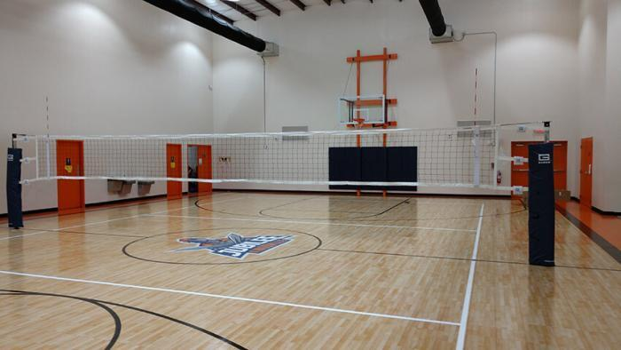 Gared Sports Omnisteel Steal Volleyball System