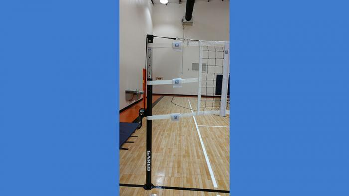 Telescoping Steel Volleyball System