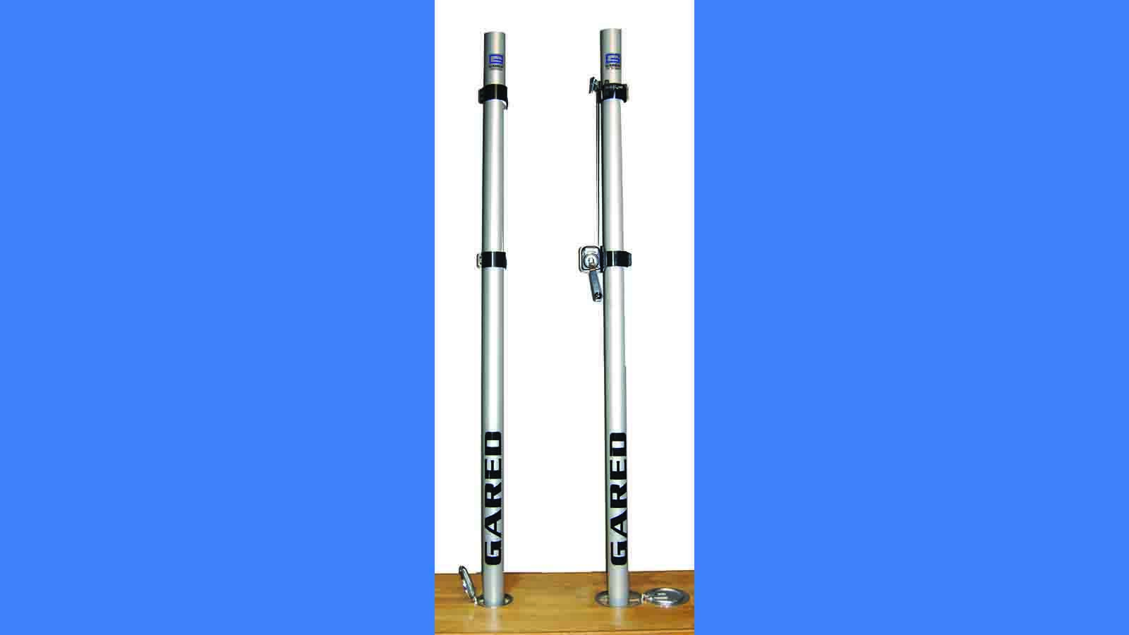 Rallyline 6000 Non-Telescoping Aluminum Volleyball System Uprights