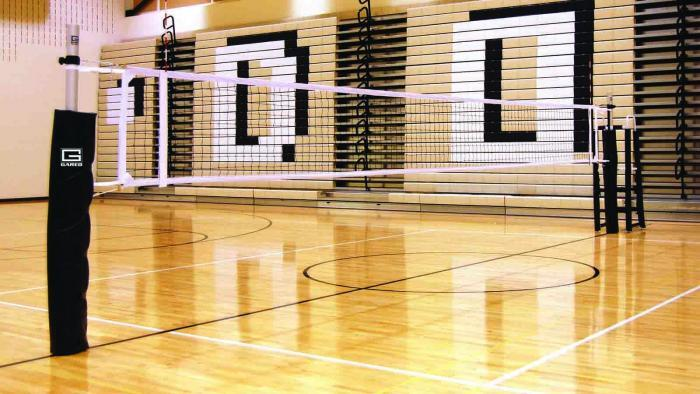 Rallyline 6000 Non-Telescoping Aluminum Volleyball System