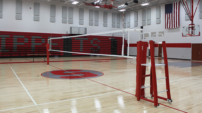 Rallyline 6100 Aluminum Telescoping Volleyball System