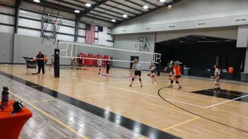 Rallyline 6100 Aluminum Volleyball System