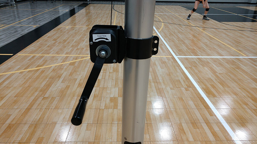 Rallyline 6100 Aluminum Volleyball System Net Tensioner
