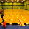 Court Clean at Ben Garza Gym