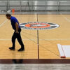 Court Clean at Living Rock Academy