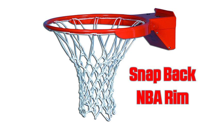 Snap Back NBA Basketball Rim