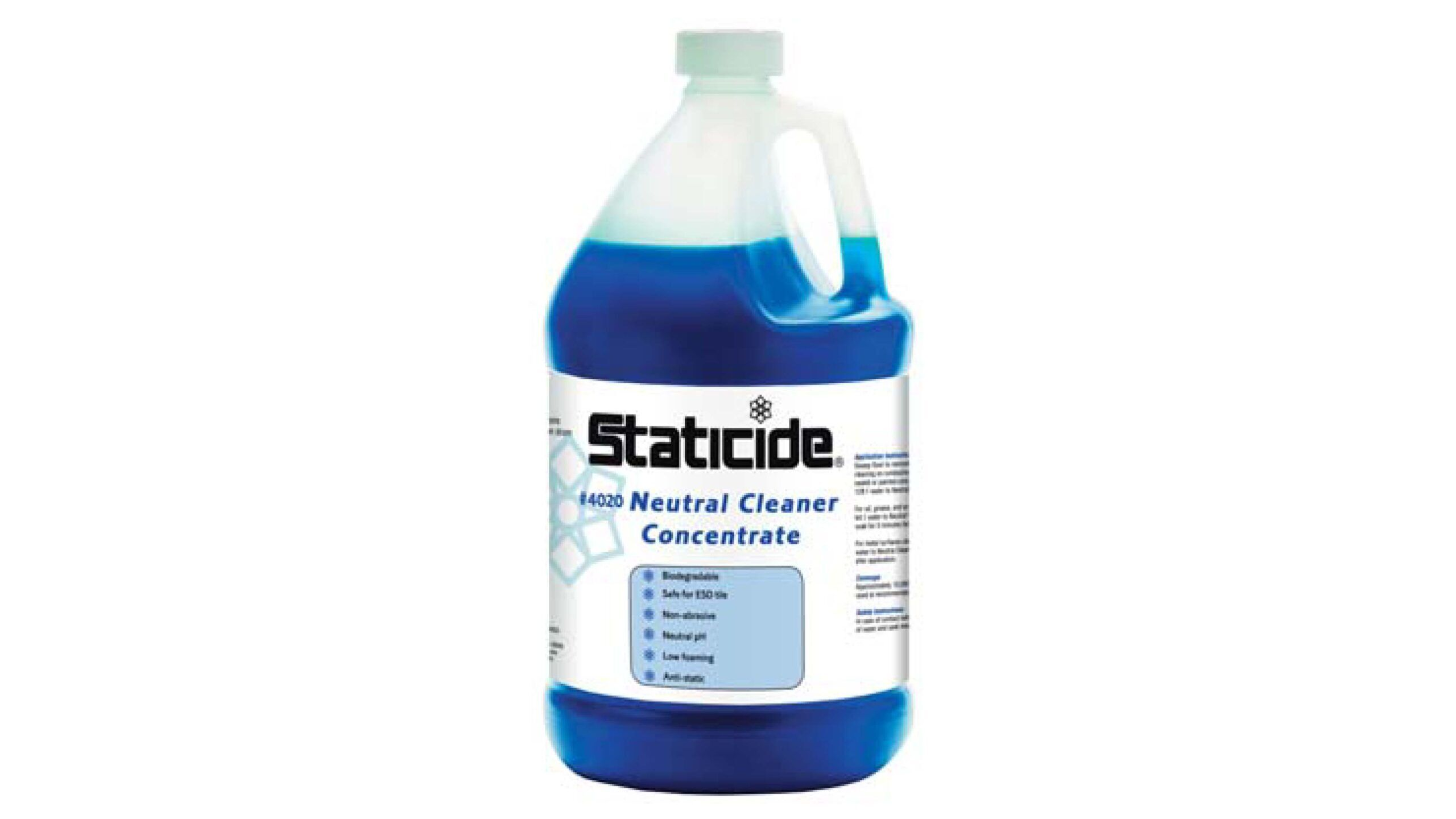 Staticide Concentrate Floor Cleaner