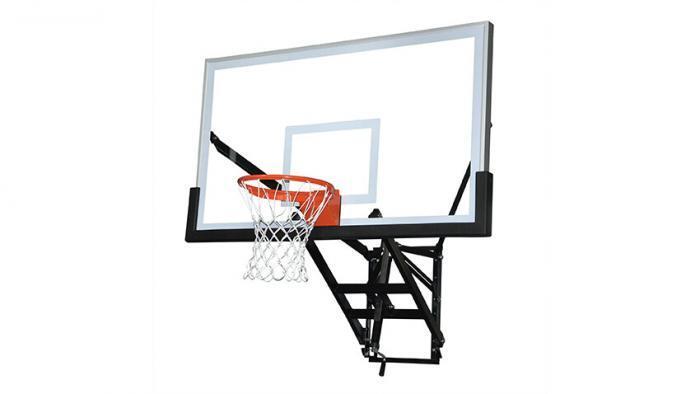 Wall Mount Adjustable Basketball Goal