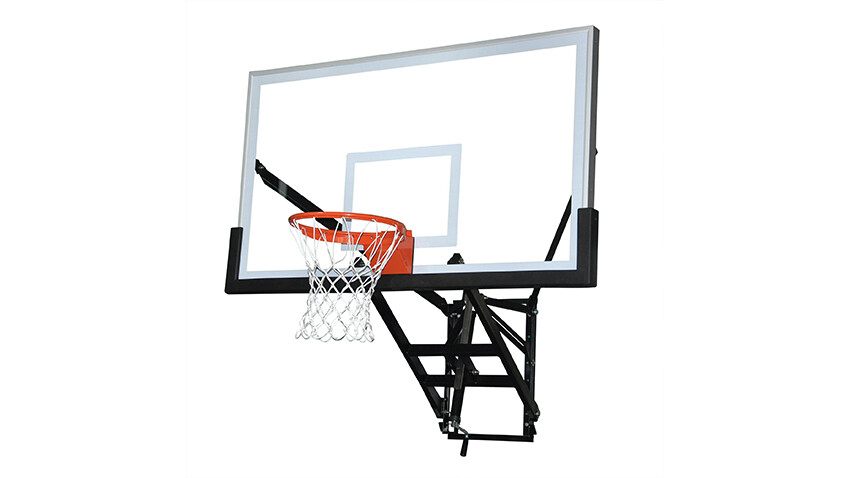 Wall Mount Adjustable Basketball Goal